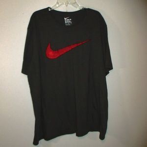 Nike basic shirt gray size 3X L the nike tee